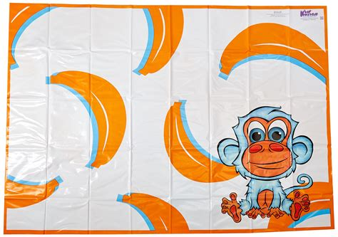 32 kidkusion high chair splat mat orange