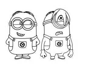 coloriage minions les beaux dessins dessin anim 233 224 imprimer colorier