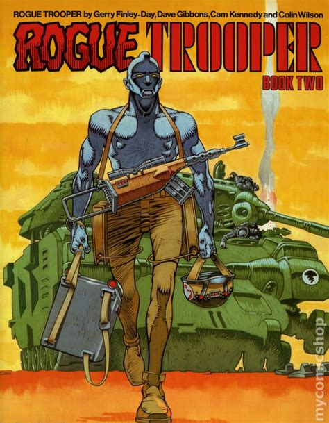 Rogue Trooper Tpb 1984 1988 rogue trooper tpb 1984 1988 titan books comic books