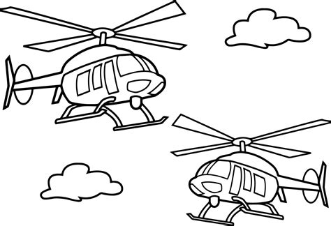coloring page of helicopter sikorsky uh 60 black hawk helicopter coloring page