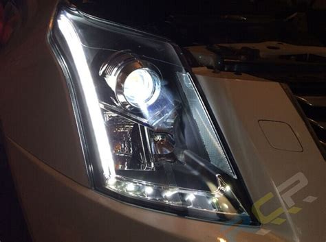 Cadillac Headlights by Hid Lights For Cadillac Srx Headlights 2010 2015 Led