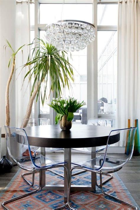 clear dining room table best 25 clear chairs ideas on pinterest lucite chairs