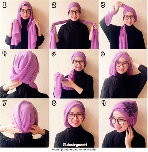 tutorial make up sederhana tapi elegan 10 tutorial hijab paris untuk wisuda meski sederhana