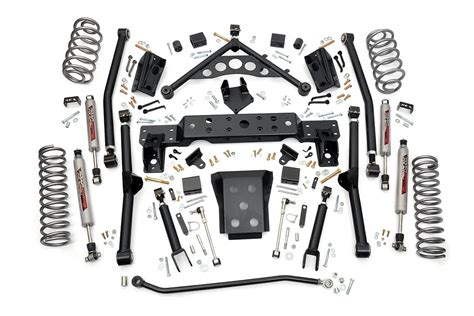 jeep grand suspension kits 4in arm suspension lift kit for 99 04 jeep wj grand
