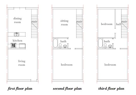 philadelphia row house floor plan modern row house plans joy studio design gallery best