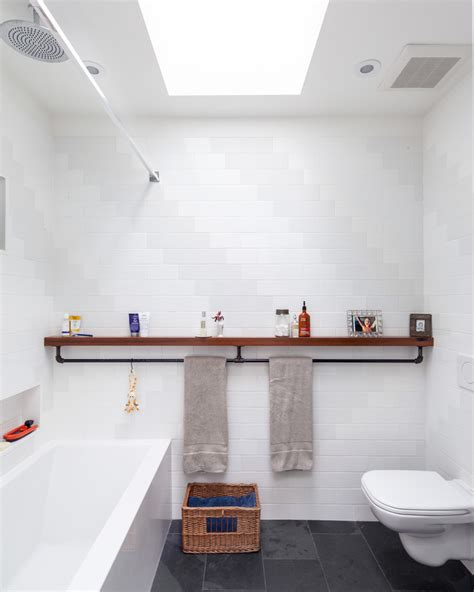 ikea towel rack Bathroom Industrial with bathroom ceiling