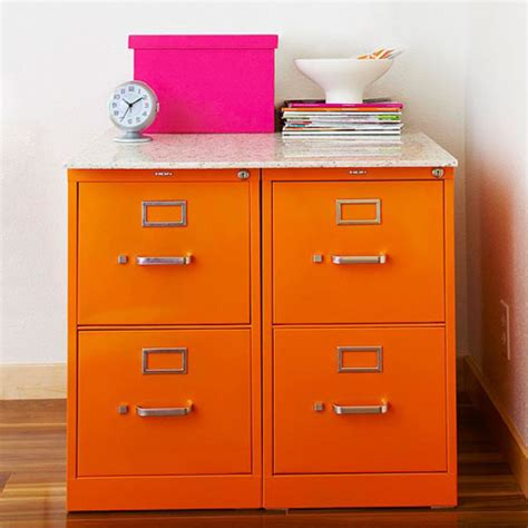 Orange Filing Cabinet Orange File Cabinets Shoplet