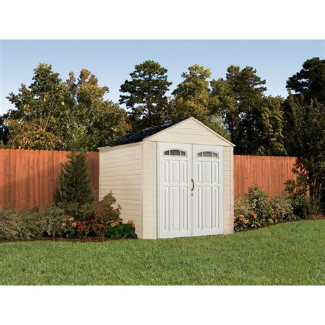 rubbermaid  feet  large  cubic feet outdoor storage