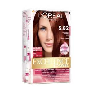 loreal excellence hair color l or 233 al excellence creme hair dye 5 62 iridescent