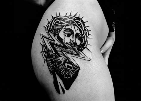 jesus tattoo gone wrong something s gone wrong in tattoos by louis loveless scene360