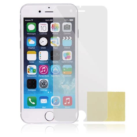 Tempered Glass Iphone 6 4 7 Clear tempered glass clear matte mirror front screen