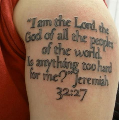 25 bible quote tattoos which look really religious