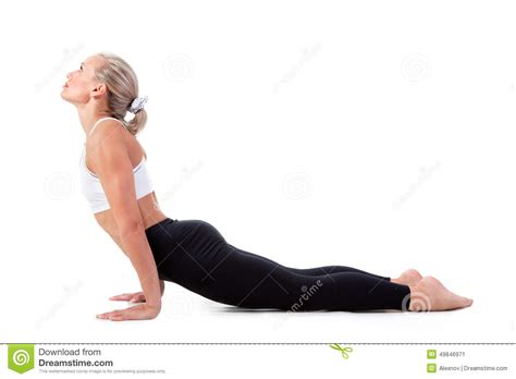 downward position sport series downward facing position stock photo image 49846971