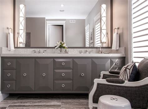 dark gray bathroom cabinets 36 best images about dream master bath on pinterest