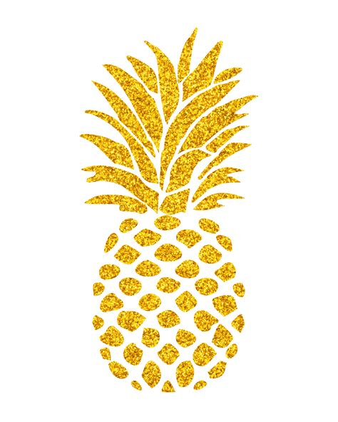 pineapple template free pineapple wall mishmash by ash illustrations