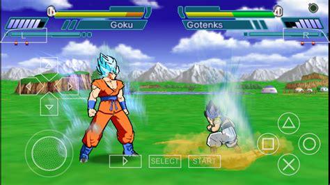 download mod game psp dragon ball z shin budokai 2 god blue mod ppsspp cso