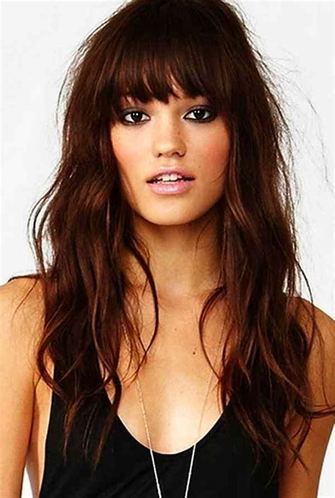 Hairstyles With Bangs For by Sweet Beautiful Hairstyles With Bangs The Haircut Web