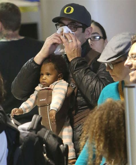 ty burrell and family ty burrell and family departing on a flight at lax 12 of