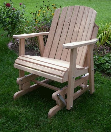 free glider bench plans furniture yards and amish on pinterest