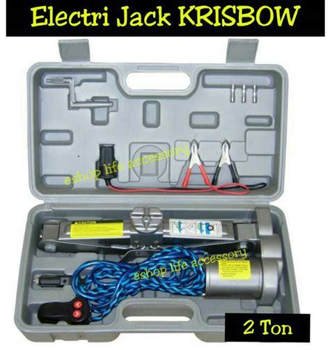 Krisbow Set Dongkrak 2 Ton jual electrick dongkrak elektrik krisbow 2 ton
