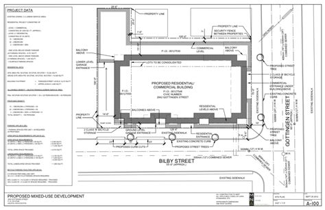 construction site plan 2842 gottingen st pdc construction site