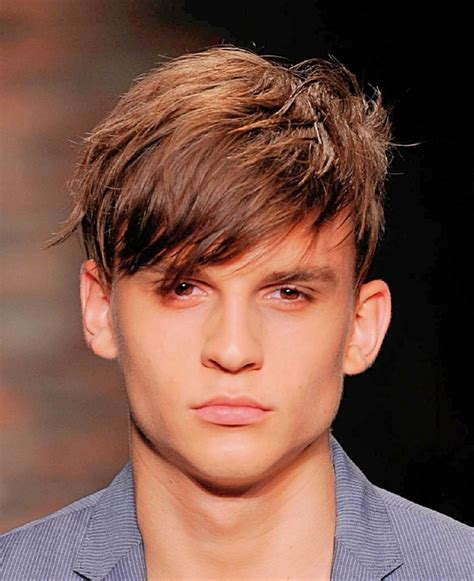 Hairstyles On Top Longer At Back | mens hairstyles short back and sides with fringe hairstyles