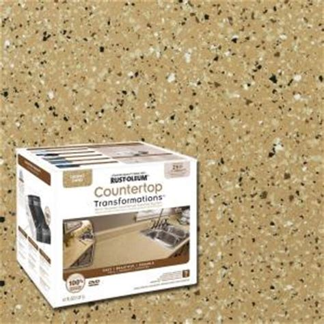 Rustoleum Countertop Transformations Kit by Rust Oleum Transformations 48 Oz Desert Sand Small