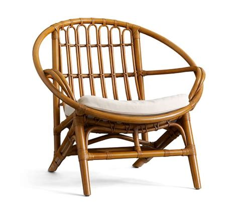 pottery barn wicker chair and luling rattan chair pottery barn