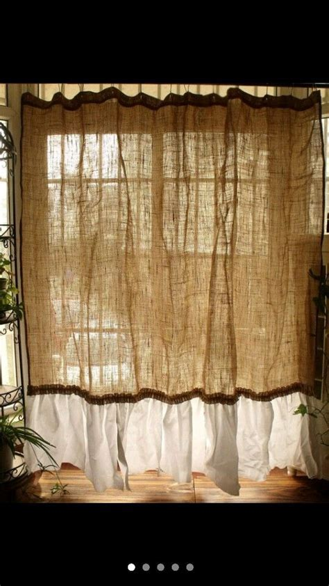 Best 25  Burlap kitchen curtains ideas on Pinterest