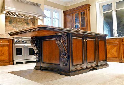 custom island kitchen custom kitchen islands that look like furniture