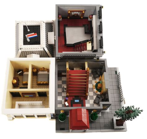 Lego Hotel Tutorial | purchase custom lego instructions amsterdam hotel