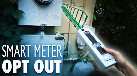 Find Search Opt Out Smart Meter Opt Out How To With Before After Measurements