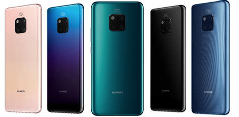 mate color huawei announces the cutting edge mate 20 and mate 20 pro