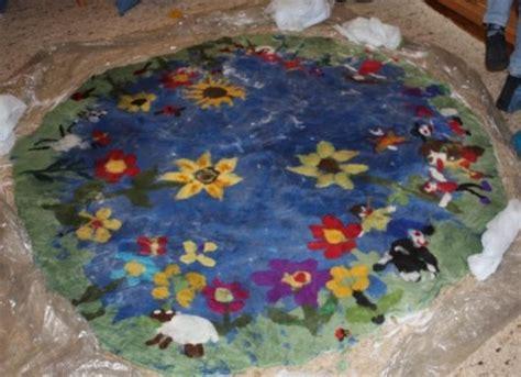 teppich filzen anleitung einen teppich filzen einzelaktionen des klassenlehrers