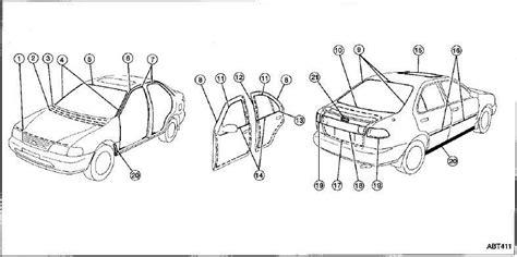 repair manuals nissan sentra b14 1996 repair manual