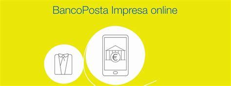 banco poste impresa on line banco posta impresa anee it