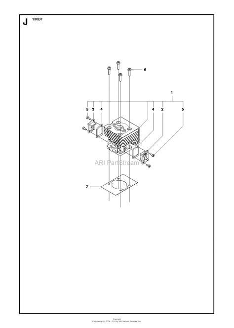 Husqvarna 130 BT - 965102208 (2013-08) Parts Diagram for