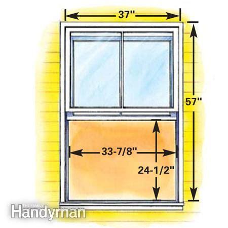 standard basement window size how to plan egress windows the family handyman