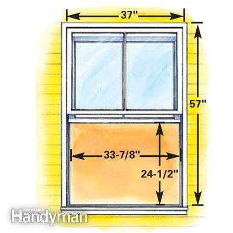 Size Of Bedroom Egress Window How To Plan Egress Windows The Family Handyman