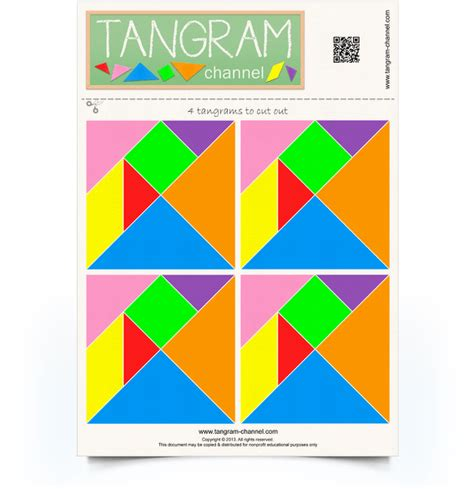tangrams to cut out providing teachers and pupils with