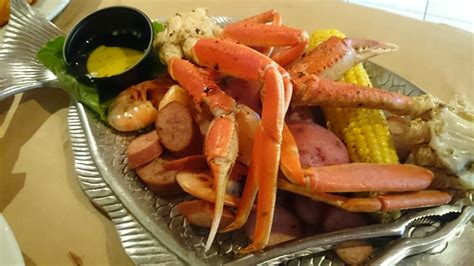 low country boil with crab legs yelp