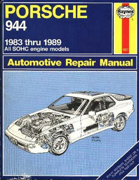 haynes porsche 944 1983 1989 auto repair manual 924board org view topic haynes repair manual