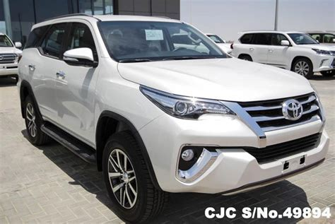 All New Fortuner Air Scoop Colour By Request 2016 left toyota fortuner white for sale stock no 49894 left used cars exporter