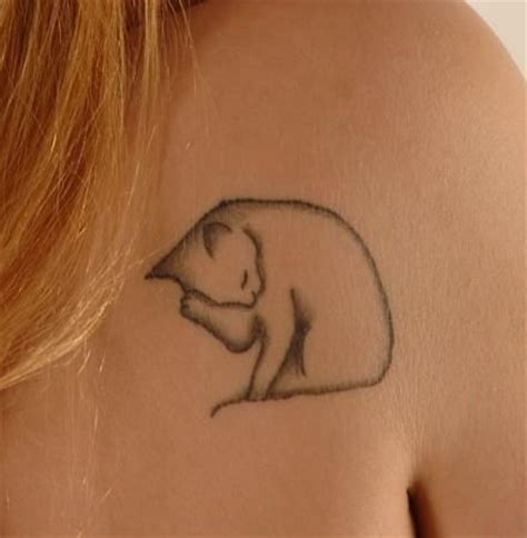 cat tattoo on shoulder cat tattoo images designs