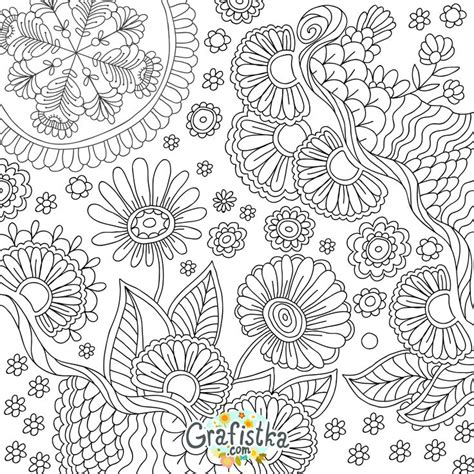 flower collage coloring page 17 best images about icolor quot flower collages quot on pinterest
