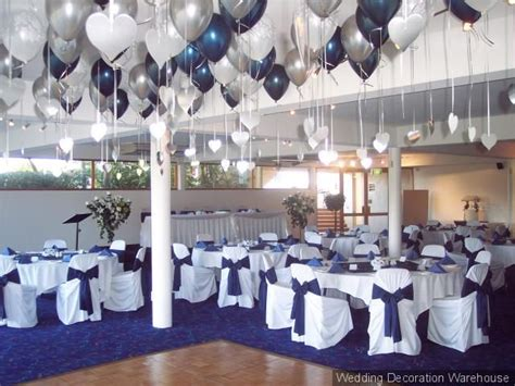 glamorous navy blue wedding table decorations 36 for your wedding reception table ideas with