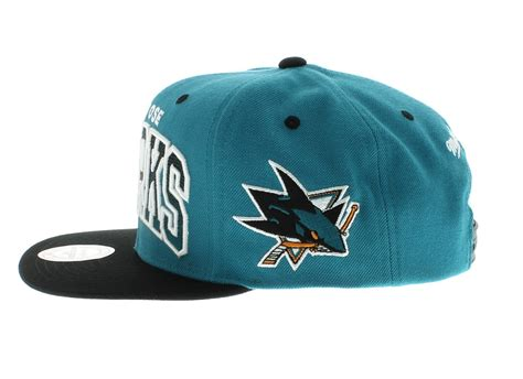 San Jose Sharks Team Colors The Gradient SNAPBACK By