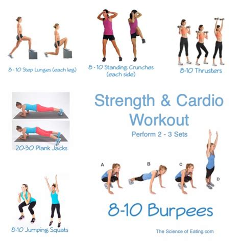 6 best strength exercises to boost your cardio workout and