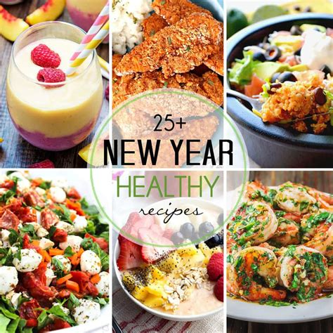 new year dessert food recipes 25 healthy recipes for the new year healthy easy
