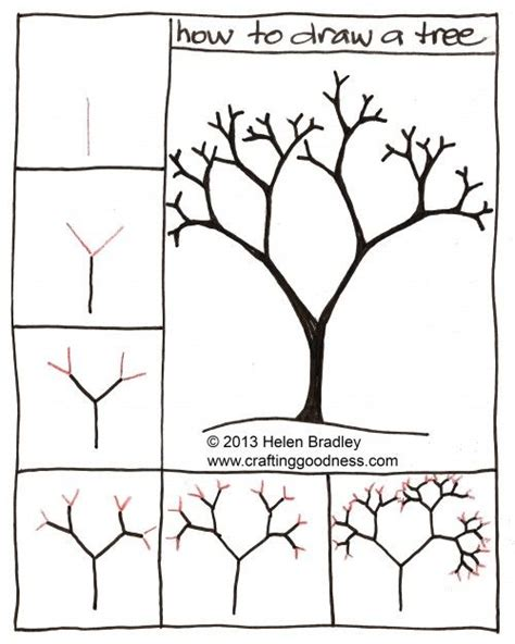 easy to draw tree how to draw a tree step by step this tutorial makes so